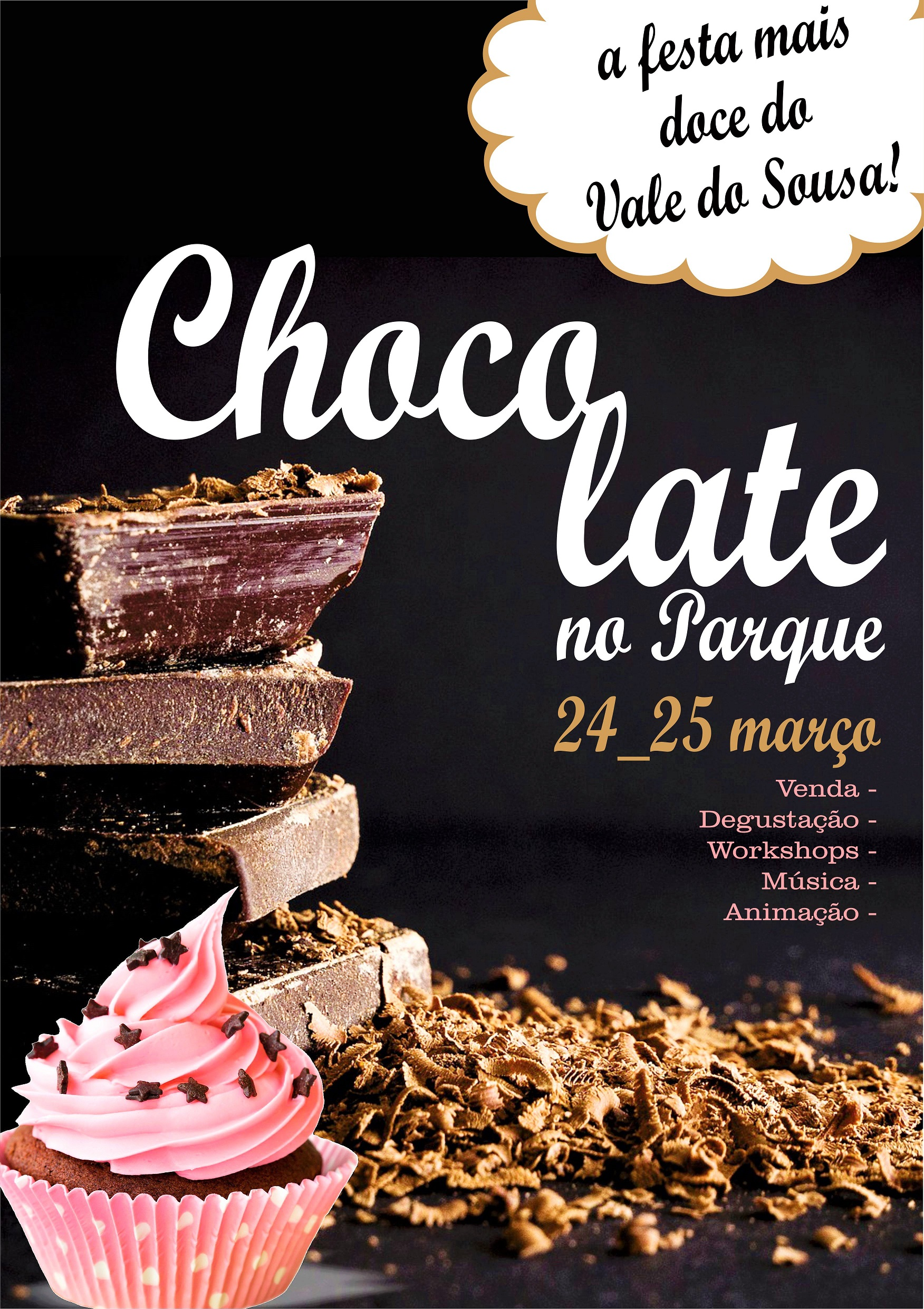 Chocolate no Parque no sábado e domingo em Lousada