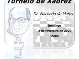 Torneio de Xadrez Dr. Machado de Matos dia 2 de fevereiro em Felgueiras